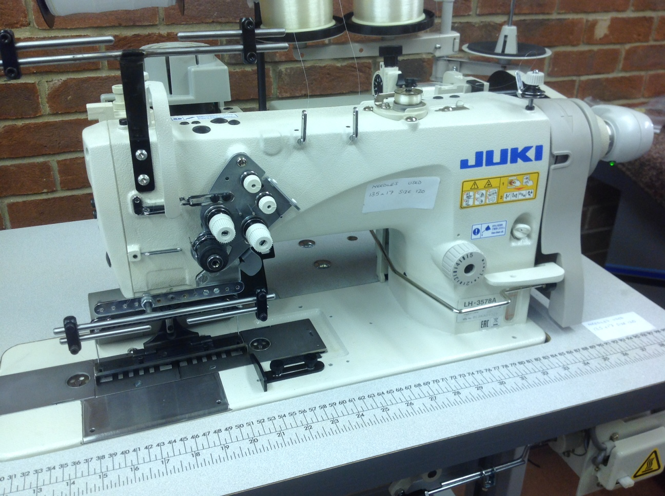 Juki LH-3578A 138mm gauge for attaching wide tape