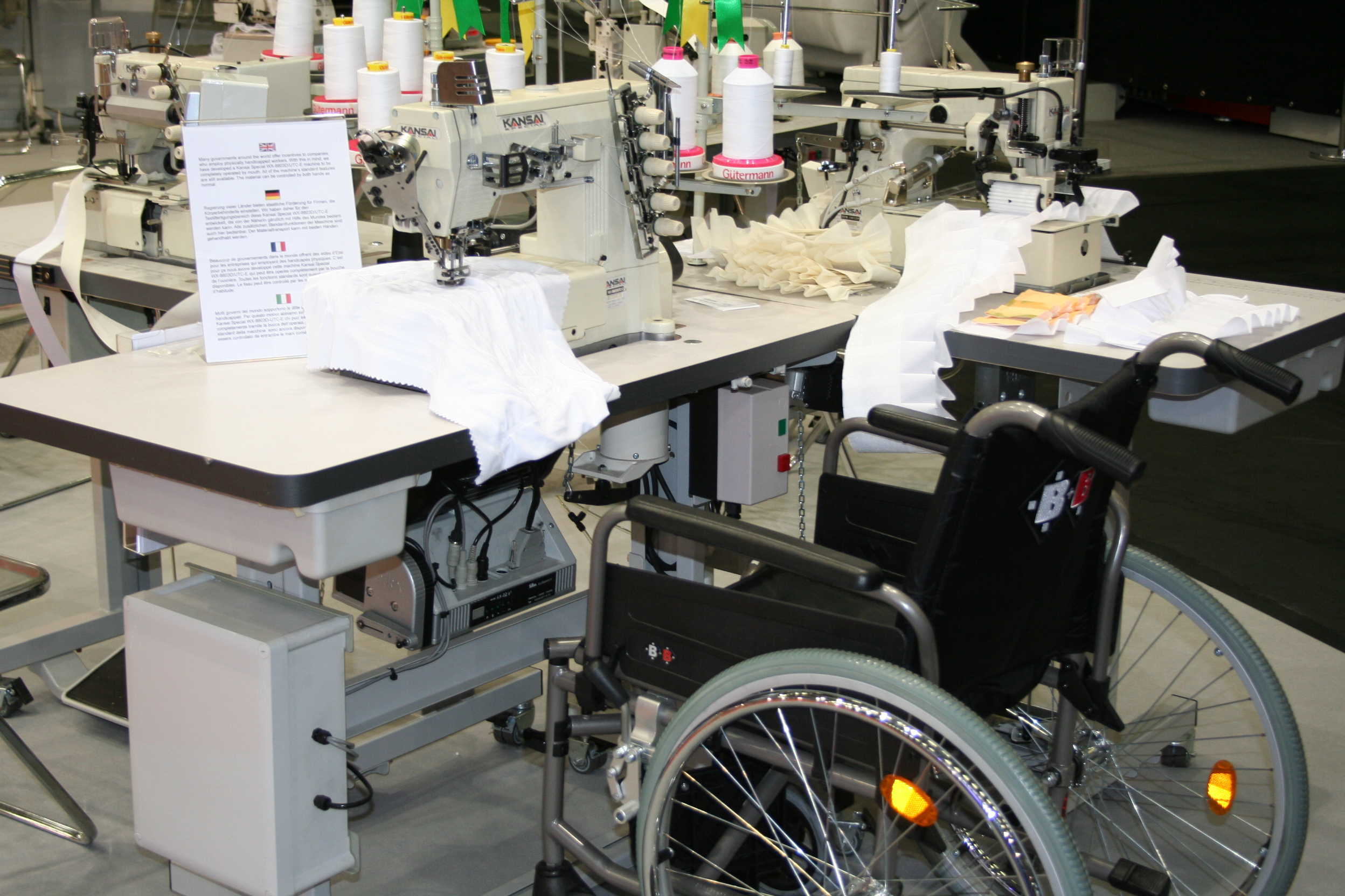 Custom Made Machines for Disabled Operators