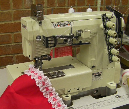 Kansai Special WX-8800MR ruffling machine