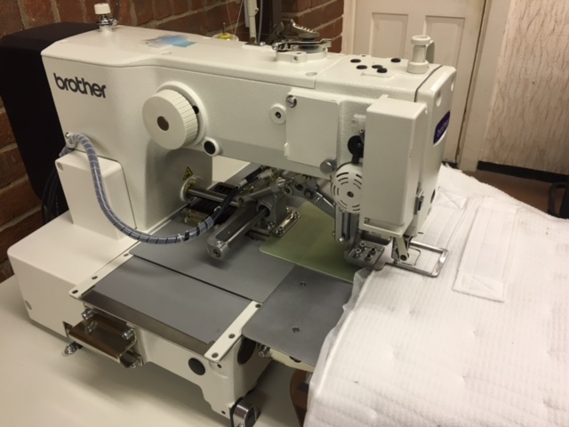 Mattress Handle Attaching Machine
