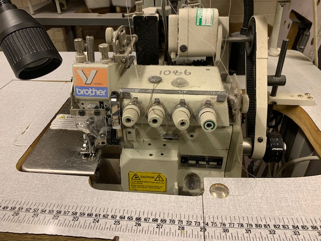 Brother V92-92 top feed overlock