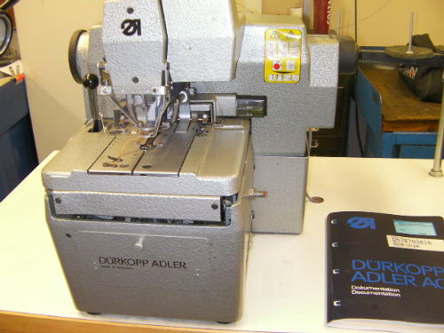 Durkopp Adler 578 button hole