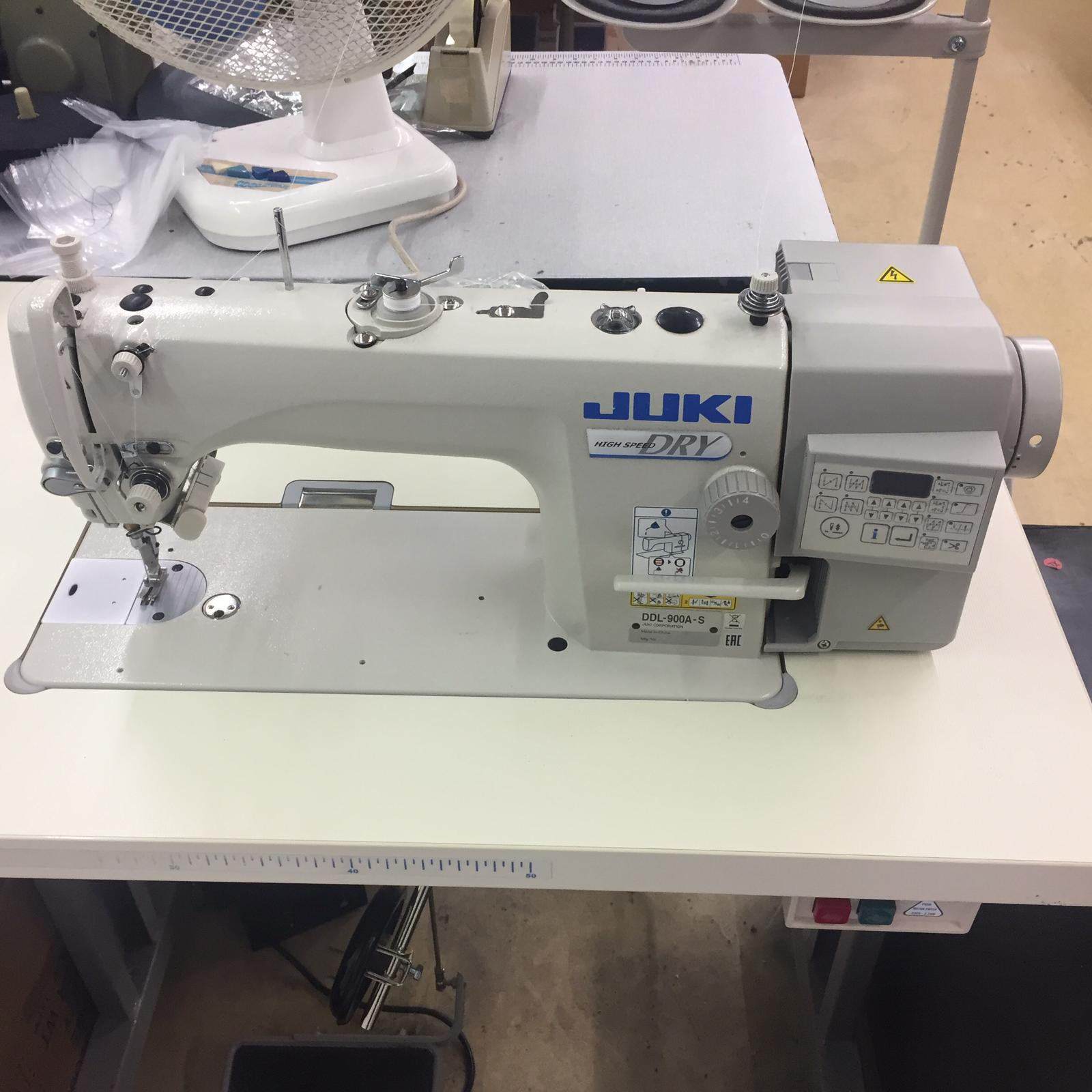 Juki DDL-900A-S lockstitch with automatic trimmer