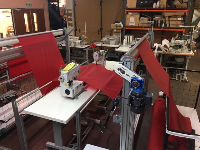 Double Headed Semi Automatic Side Hemming Rig
